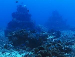 pyramid point diving bali