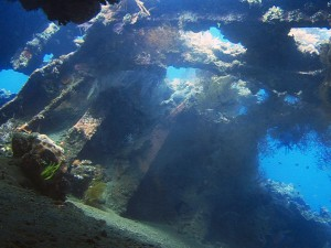 wreck usat liberty diving bali