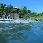 вид бухты lipah bay в амеде на бали